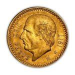Mexican 10 Peso Gold Coin
