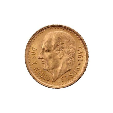 Mexican 2.5 Peso Gold Coin
