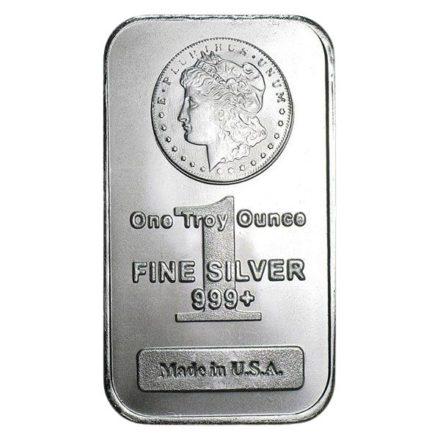 Morgan 1 oz Silver Bar