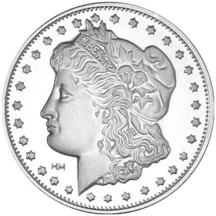 Morgan 1 oz Silver Round