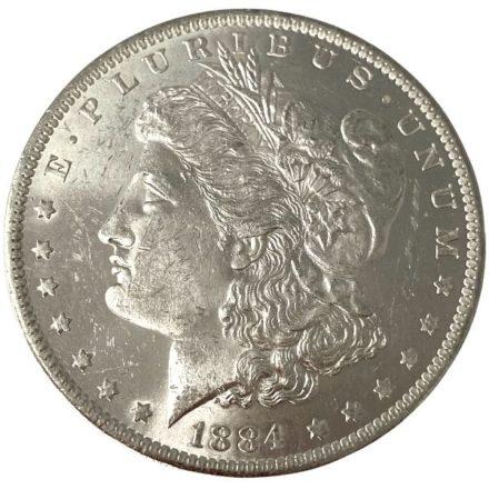 Morgan Silver Dollar Coin - 1878-1904 BU