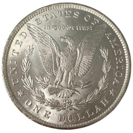 Morgan Silver Dollar Coin - 1878-1904 BU Reverse
