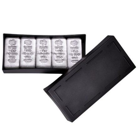 PAMP Suisse 1 Kilo Silver Cast Bar Box