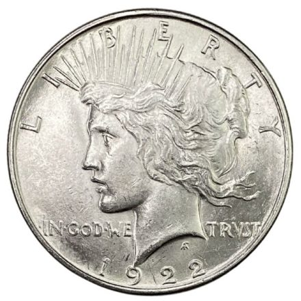 Peace Silver Dollar Coin - AU