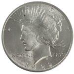 Peace Silver Dollar Coin - BU