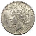 Peace Silver Dollar Coin - VG