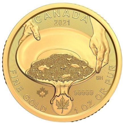 2021 1 oz Canadian Gold Klondike Coin