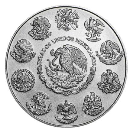 2021 1 oz Mexican Silver Libertad Coin Reverse