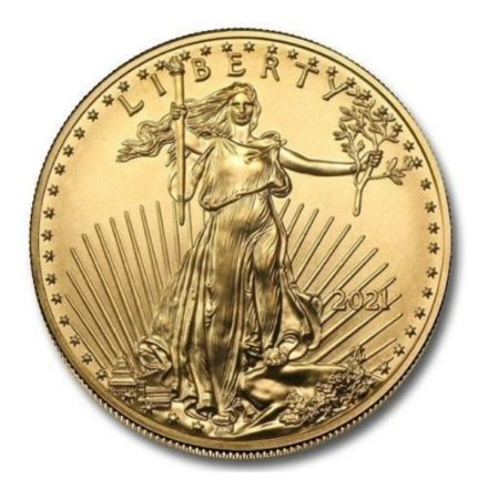 2021 1/2 oz American Gold Eagle Coin Type 2
