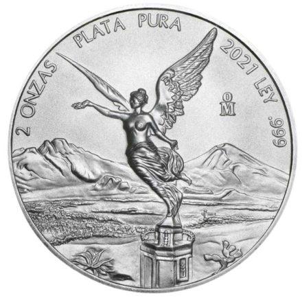 2021 2 oz Mexican Silver Libertad Coin