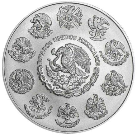 2021 2 oz Mexican Silver Libertad Coin Reverse