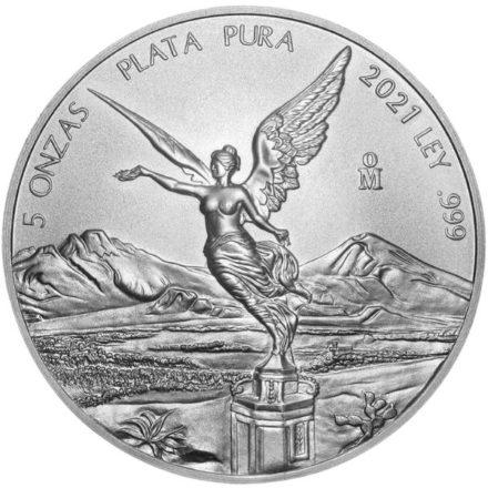 2021 5 oz Mexican Silver Libertad Coin