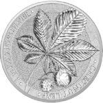 2021 Chestnut Leaf 1 oz Silver Round