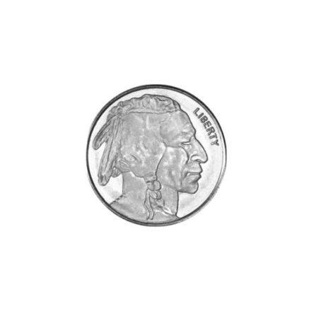 Buffalo 1/10 oz Silver Round Obverse