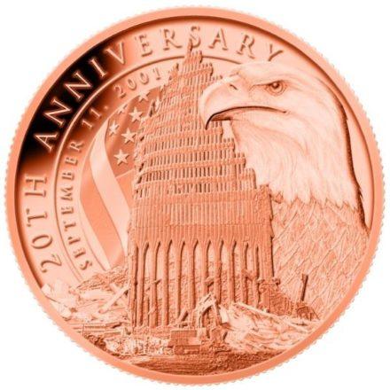 September 11th Anniversary 1 oz Copper Round