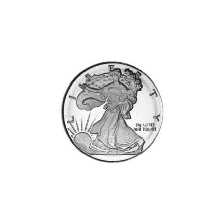 Walking Liberty 1/10 oz Silver Round Obverse