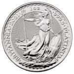 2021 1 oz British Platinum Britannia Coin