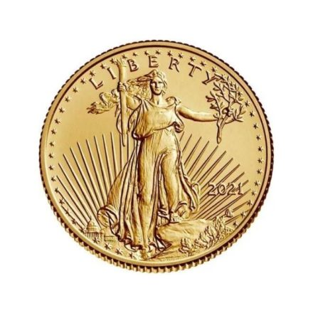 2021 1/10 oz American Gold Eagle Coin Type 2