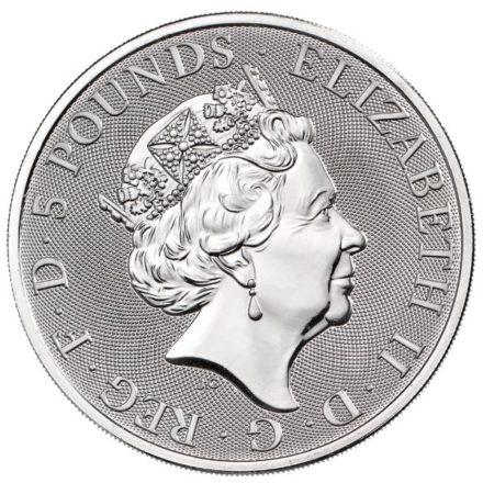 2021 2 oz British Silver Queen's Beast Completer (PRE-SALE 8/16/21)