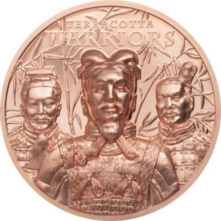 2021 50 gram Terra Cotta Warriors Copper Round