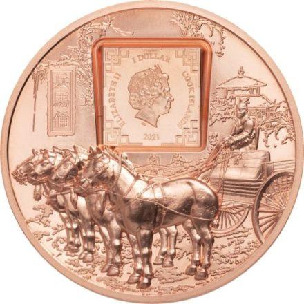 2021 50 gram Terracotta Warriors Copper Round