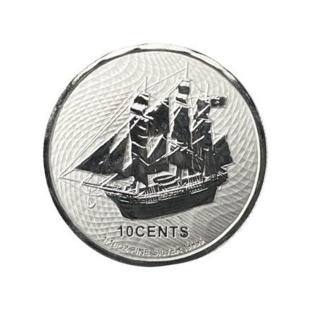 2021 Cook Islands 110 oz Silver HMS Bounty Coin