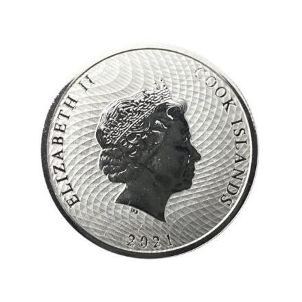 2021 Cook Islands 1/10 oz Silver HMS Bounty Coin
