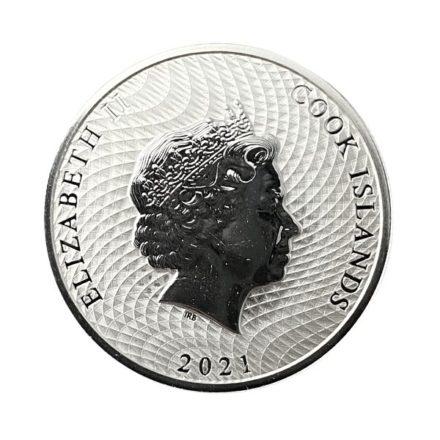 2021 Cook Islands 1/4 oz Silver HMS Bounty Coin