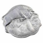 2021 Solomon Islands Silver Bull Bear 2 Coin Set