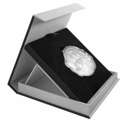 2021 Solomon Islands Silver Bull Bear 2 Coin Set Display Box