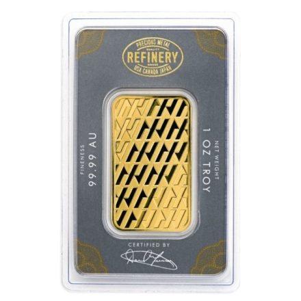 Asahi 1 oz Gold Bar
