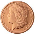 Morgan Dollar 1 oz Copper Round