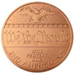 We The People 2nd Amendment 1 oz Copper Round
