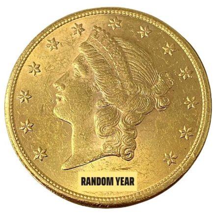 $20 Liberty Double Eagle Gold Coin BU Random