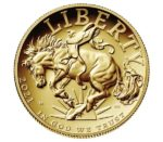 2021 1 oz American Liberty High Relief Gold Coin obverse