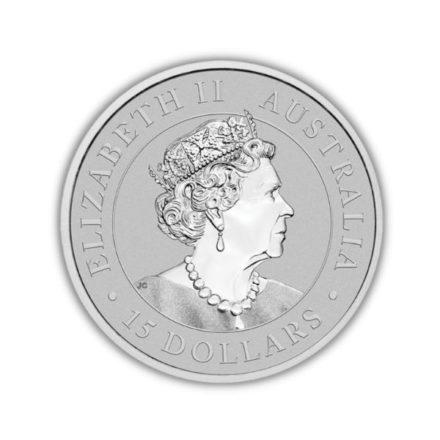 2021 1/10 oz Australian Platinum Kookaburra Coin Effigy