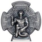 2021 Isle of Man 3 oz Silver Cernunnos Horned God