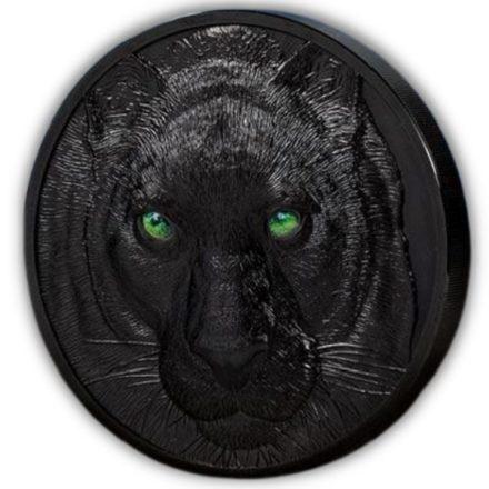 2021 Palau 1 Kilo Silver Black Panther Coin Side (1)