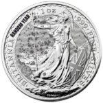Cull 1 oz British Silver Britannia Coin