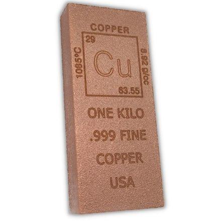 Element 1 Kilo Copper Bar