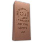 Element 10 Pound Copper Bar