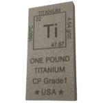 Elemental 1 Pound Titanium Bar Angle