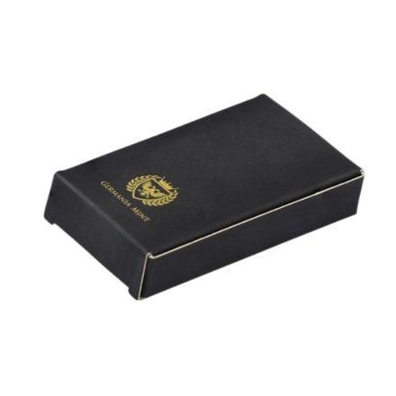 Germania Mint 250 gram Silver Bar Packaging Back