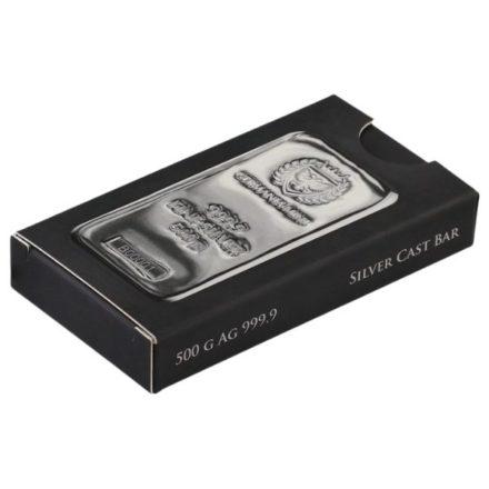 Germania Mint 500 gram Silver Bar Packaging