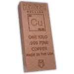 Hero Bullion 1 Kilo Copper Bar