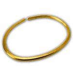 Smooth 1 oz Gold Bullion Bracelet in CertiCard™