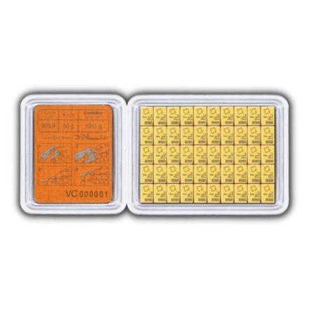 Valcambi 50 x 1 gram Gold CombiBar™