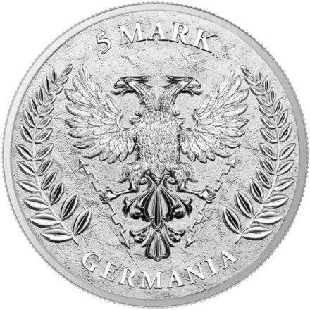 2020 Germania 1 oz Silver Round Reverse