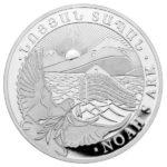 2021 1 oz Armenia Noah's Ark Silver Coin