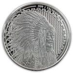 2021 Asahi Liberty Trade Buffalo 1 oz Silver Round